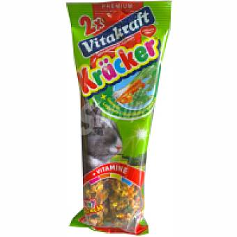 Vitakraft Barritas de verduras para conejos enanos Pack 1 unid