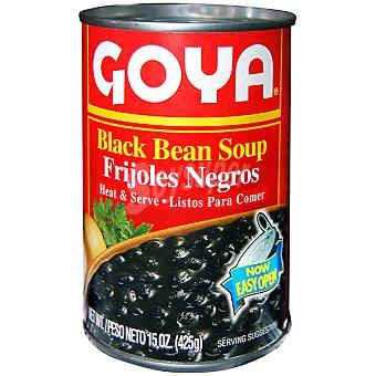Goya frijoles negros listos para comer lata 425 g neto escurrido