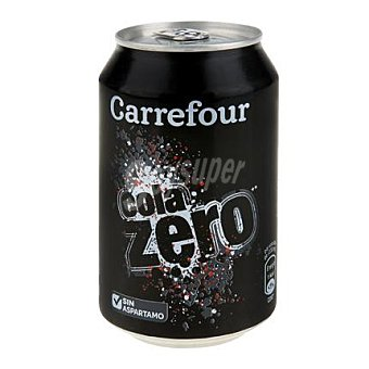 Carrefour Refresco de cola zero 33 cl