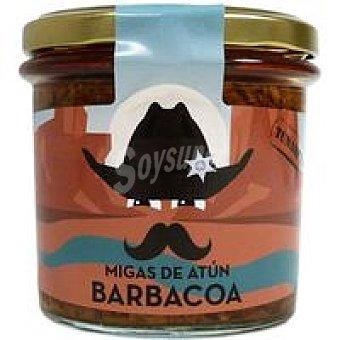Zallo Migas de atún en salsa barbacoa Tunakitos Frasco 220 g