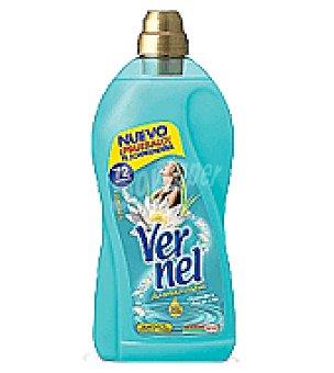 Vernel Suavizante concentrado frescor Botella de 2 l