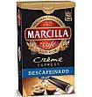 Café express descafeinado mezcla crème express Paquete 250 g Marcilla