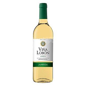 Viña Lobón Vino D.O. Valdepeñas Blanco Airén 75 cl 75 cl
