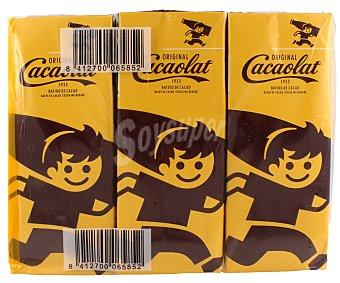 Cacaolat Cacaolat Batido de Chocolate Brick 200 ml (pack 6x200ml) 1200 ml