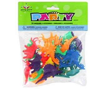 Party Dinosaurios fluorescentes 28 Unidades