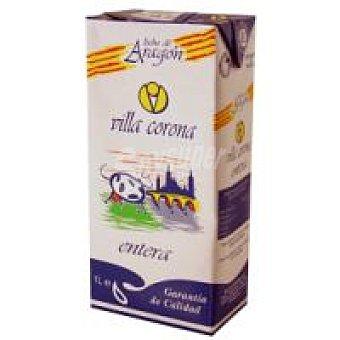 VILLACORONA Leche Entera Brik 1 litro