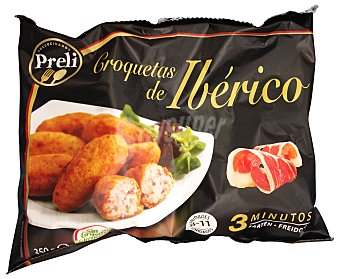 Preli Croquetas congeladas iberico delicatessen Caja 350 g