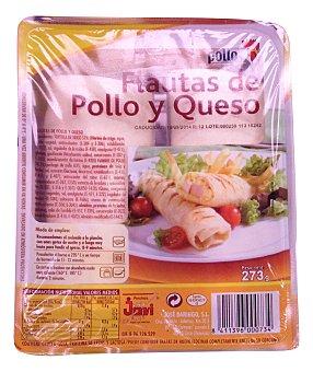 Pinchos Jovi Flautas pollo y queso Paquete 273 g (2 unidades)