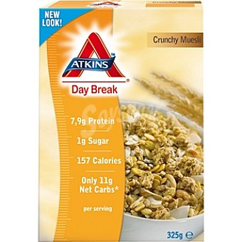 ATKINS DAY BREAK Crunchy Muesli Envase 325 g