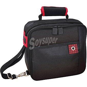 Iris Lunch Box bolsa para transporte de alimentos en poliester color negro