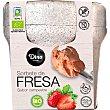 Sorbete de fresa sabor campestre ecológico sin gluten y sin lactosa Envase 450 ml Dino