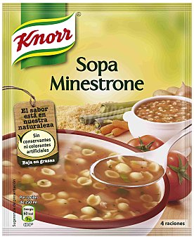 Knorr Sopa Minestrone 76 Gramos