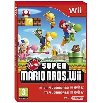 Nintendo Wii videojuego Super Bross  1 unidad