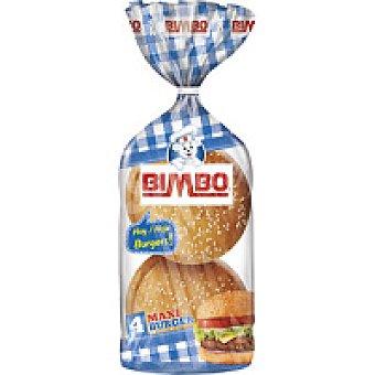 Bimbo Maxi burguers 4+2 unid