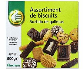 PRODUCTO ECONÓMICO ALCAMPO Surtido de galletas 500 Gramos