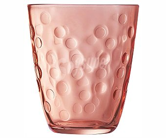 Luminarc Vaso color rosa con decoración en relieve, , luminarc Dear Santa 0,31 litros