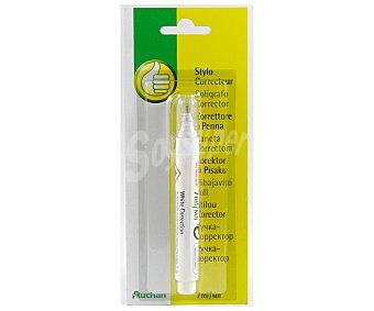 Productos Económicos Alcampo Corrector en formato bolígrafo de 7 mililitros 1 unidad