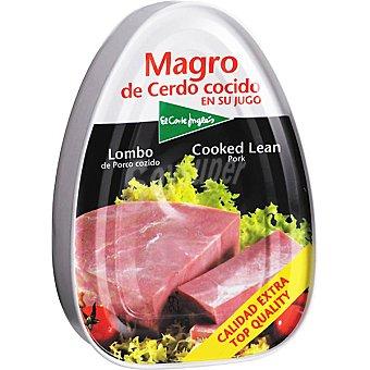 El Corte Inglés Magro de cerdo cocido lata 220