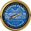 Caviar Kaluga imperial gold beluga Lata 50 g Caspian Pearl