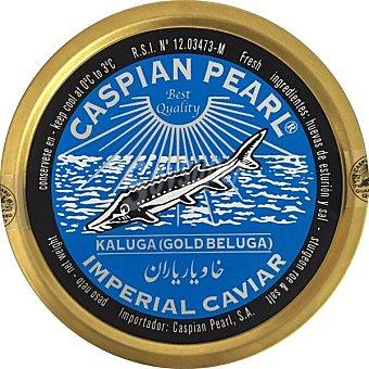 Caspian Pearl Caviar Kaluga imperial gold beluga Lata 50 g