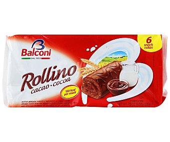 Balconi Rollinos de Cacao Envase 6 uds x 37 g