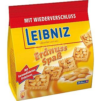 BAHLSEN Leibniz Ernuss Spab Galletas con cacahuetes caramelizados Bolsa 175 g
