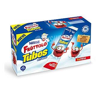 Fruttolo Nestlé Petit de fresa en tubos de nestlé Tubos 6 unidades