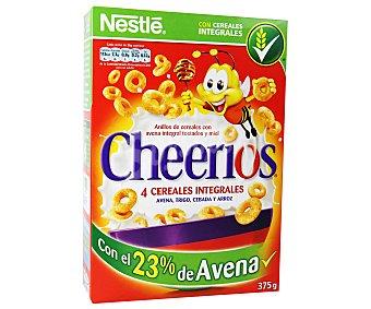 Nestlé Anillos de cereal, avena integral tostado y miel 375 g