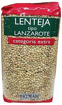 Hacendado Lenteja lanzarote Paquete 1 kg
