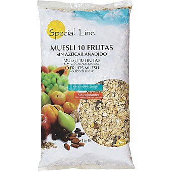 Special Line Muesli 10 frutas envase 1 kg Envase 1 kg
