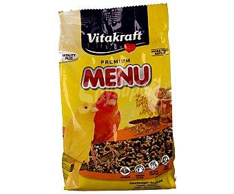 Vitakraft Alimento completo menú para canarios Bolsa 500 gramos