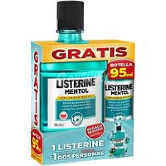 Listerine Enjuague Mentol 500 + 95ml