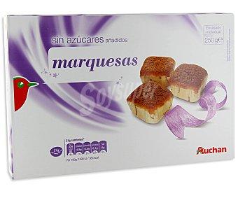 Auchan Marquesas sin azúcares añadidos 250g