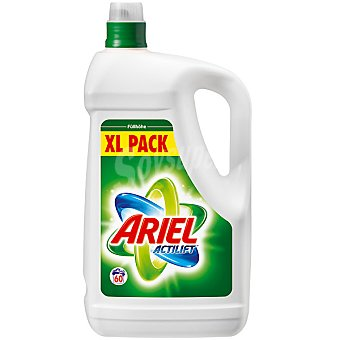 ARIEL detergente máquina líquido con actilift pack XL botella 60 dosis