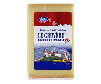 LE GRUYÉRE Queso Gruyere Switzerland 200 Gramos