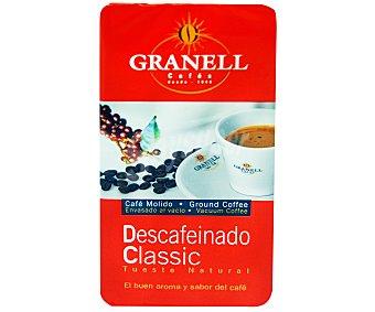 Granell Café molido natural descafeinado 250 Gramos