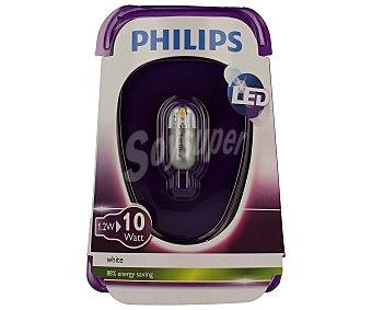 Philips Bombilla led capsula 1.2W, casquillo G4, luz cálida 1 unidad