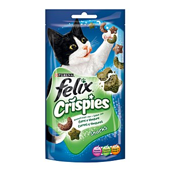 Purina Felix Crispies de carne Paquete 45 g