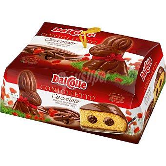 Dal colle Conejito de bizcocho cubierto y relleno de chocolate con leche caja  750 g