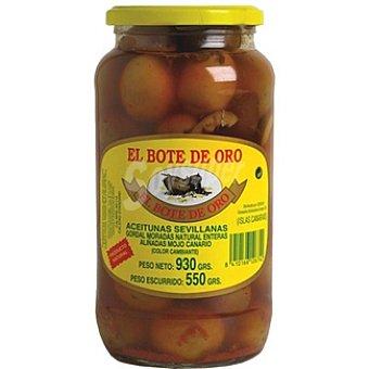 El Bote de Oro Aceitunas obregón aliñadas con mojo canario Frasco 550 g neto escurrido
