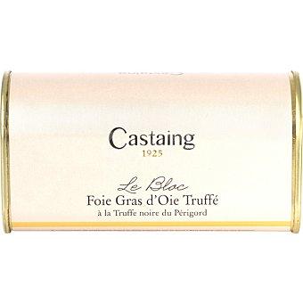 Castaing Foie gras de oca trufado en bloc lata 200 g lata 200 g