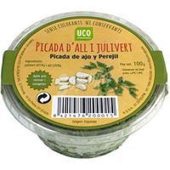 Eroski Picada de ajo-perejil Bandeja 100 g