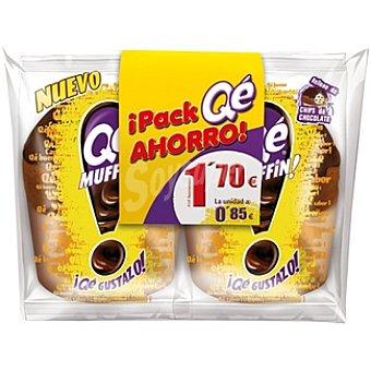 Qé! Muffin paquete 210 g Pack ahorro 2 unidades