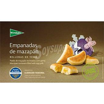 El Corte Inglés Empanadas de mazapán de Toledo rellenas de yema estuche 200 g Estuche 200 g