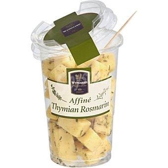 WYNGAARD Queso gouda en trozos con tomillo y romero de Francia envase 85 g envase 85 g