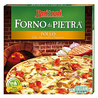 Buitoni Pizza Forno di Pietra Pollo Caja 350 g