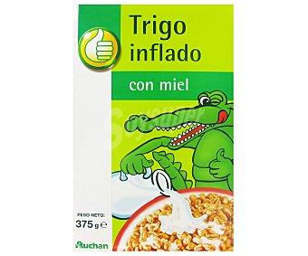 Productos Económicos Alcampo Cereales de trigo inflado con miel 375 gramos