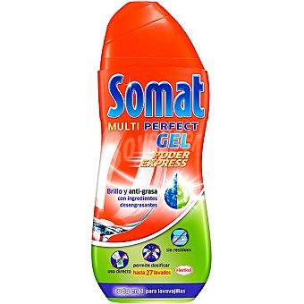Somat Lavavajillas máquina gel antigrasa Botella 33 dosis