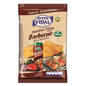 Vidal Patatas fritas sabor salsa barbacoa Bolsa 135 g