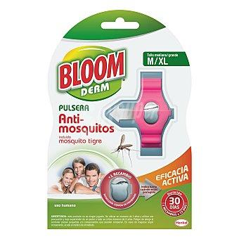 Bloom Pulsera antimosquitos adultos